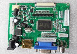 Wholesale Ttl Vga - Wholesale-Driver Board test Board car video AT070TN90 tn92 tn94 HDMI VGA 2AV input -50pin TTL LVDS output FOR common use