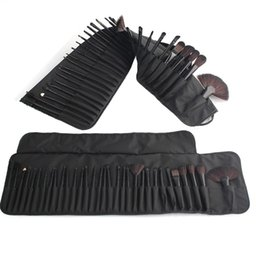 Wholesale Makeup Tools Full Set - Full sets Professional 32 pcs Makeup Brush Set Tools Make-up Toiletry Kit Powder Foundation Synthetic Hair Brushes Set pinceaux maquillage