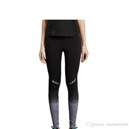 Wholesale Grey Leggings Woman - Yoga pants women's sports pants tight running fitness comprehensive training leggings quick dry stretch breathable 2017 new