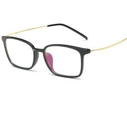 Wholesale solid hinges - 2017 New men Glasses frame retro designer myopia brand optical clear Eyeglasses frame Eyeglasses Frame Men Women A104