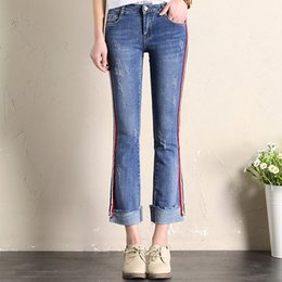 Wholesale Sexy Jean Jackets - China manufacture sexy women in tight belted jeans name brand women jeans cheap women denim jean jackets