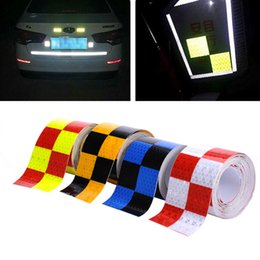 Wholesale Wholesale Used Trucks - Wholesale- 5CMx400CM Reflective adhesive tape Reflective tape sticker for Truck Car Motorcycle Bike Safety use ,Free shipping