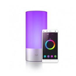 Wholesale touch sensor bulb - Wholesale-Original Yeelight Smart LED Light Lamp 16 Million RGB Touch Sensor Switch Bulb Smart Phone App Bluetooth Controller Bed Light