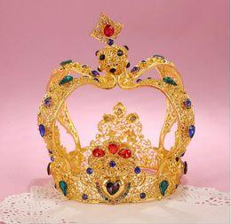 Wholesale Imitation Gold Upscale - DG upscale baroque palace bride, crown wedding accessories wholesale free delivery.