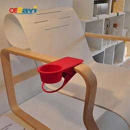 stabilimenti di piante all'ingrosso Sconti Wholesale- 1Pc grande fai da te Drinklip Cup Clip su tazza di caffè stand porta tazze di stoccaggio piante in vaso rack per Home Office Desk Table Decoration