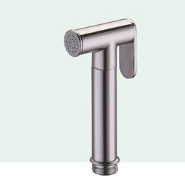 Wholesale Shower Faucet Brass - Bidet Spray Bathroom Shower Bidets Mixer Toilet Spray Shower Set Hand Held Faucet Spray Bath Supply Accessories