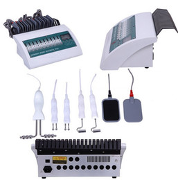 Wholesale Ems Microcurrent - Professional Microcurrent BIO Face Lift Electric Muscle Stimulator With Far Infrared Heaters Physiotherapy Equipment EMS Fitness Machine
