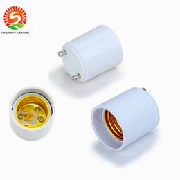 Wholesale Lamp Base Adapters - GU24 to E27 lamp base holder socket adapter,GU24 male to E27 female converter for led bulbs