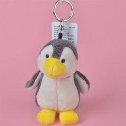 Wholesale Penguin Monkey - Little Penguin Wholesale Brand New 10cm Stuffed Animals Plush Keychain, Backpack Pendant, Keyring Plush Toys Free Shipping