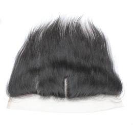 """Wholesale soft virgin hair - 7A Peruvian Virgin Human Lace Frontal Closure Hair Brazilian Straight Hair Frontals 13*4 1B Free Part 8""""-20"""" Soft Cheap Hair"""