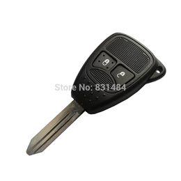Wholesale Dodge Keys Blank - 2 buttons remote car key case shell key blank for Chrysler Dodge Jeep