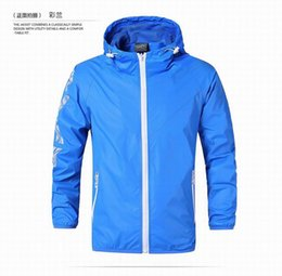 Wholesale Kind Sleeves - The new 2017 autumn thin kind of young men jacket loose hooded shirt fertilizer plus-size men's leisure trench coat Male thin jacket