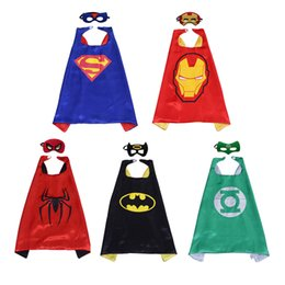 Wholesale Cartoon Cloak - Children's cartoon hero cloak + mask