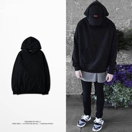 Wholesale Fertilizers Brands - Wholesale - High Street hooded students of Japanese on the West Coast Tide brand Harajuku fashion male plus fertilizer XL men's sweater men