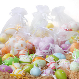 Wholesale Measuring Eggs - 12 pcs Easter Eggs Surprise Eggs Measure 6x4.5cm Great for Easter Eggs Hunt Easter Party Favors Supplies Pinata Gifts