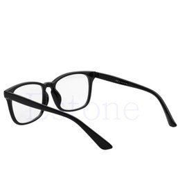Wholesale Spectacles Frames For Men Fashion - Wholesale- 1 PC New Fashion Frame Full Rim Computer Glasses Retro Eyeglass Spectacles for Men Women Christmas Gifts