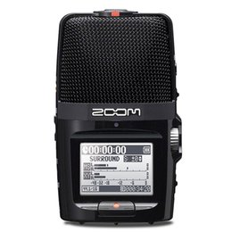 Wholesale Microphone Slr - Wholesale-Professional portable ZOOM H2N Handy Recorder Ultra-Portable Digital Audio Recorder Stereo microphone Interview SLR