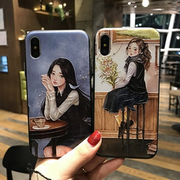 Wholesale Dirt Girl - Phone Case For Apple iPhone 8 8Plus 7 7Plus 6 6Plus Case Beauty Girl Protect Cover