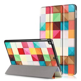 Wholesale Ipad Book Stand Case - Cute cartoon 3 folded Flip book PU Leather Stand Case Smart Cover for New ipad 9.7 2017