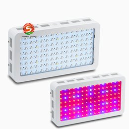 Wholesale Uv Ir - 2016 double chip LED grow light panel 1000W 1200W 9 Band Red Blue White UV IR Full Spectrum Led Plant Growing Lighting Lamps