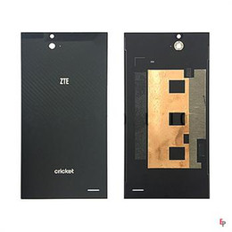 Wholesale Cover Zte Grand X - For ZTE Grand X Max Z787 Max+ Z987 Back Cover Battery Cover Case Door Glass Black Replacement