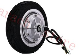 "Wholesale Electric Bike Hub Motor Kits - 8"" 350W 24V disc brake electric wheel hub motor electric scooter kit electric bike kit"