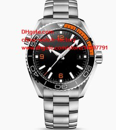 Wholesale Planet Ocean Gold - 4 Colors High Quality Watch JH N8 Factory CAL.8500 Movement 42MM 45MM PLANET OCEAN 600 M CO-AXIAL MASTER CHRONOMETER Automatic Mens Watches