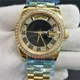 Wholesale Good Mechanical Watches - wholesale good quality Mans luxury brand aaa watches date replica watches mechinal watches Stainless steel strap sapphire glass Wristwatches