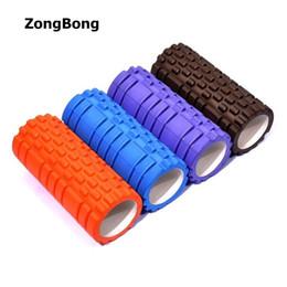 Wholesale Yoga Block Green - Yoga Fitness Equipment Eva Foam Roller Blocks Pilates Fitness Gym Exercises Physio Massage Roller Yoga Block