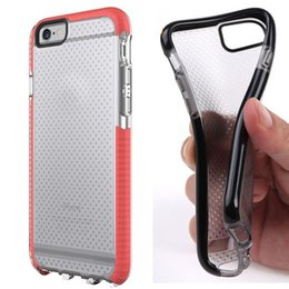Wholesale Shock Proof Case Cover - New Arrival T21 Soft TPU Protective Back Cover Case For iphone 7 7plus 6s plus Frame Bumper Case Shock Proof DHL Free Shipping