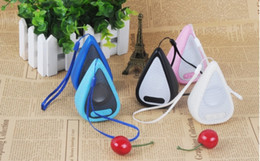 Wholesale Water Iphone Speakers - Cool Bluetooth speaker Top Quality Water Drop Shape Wireless bluetooth Speaker Portable Loudspeakers Sound Box for iPhone Computer