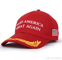 Canada Casquette de campagne Chapeau Make America Great Again Donald Trump Casquette de baseball ajustable brodée Hip Hop Offre