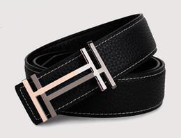 Wholesale Belt Woman H - 2017 New style belt h belt buckle designer belts luxury high quality belts for men and women business belts waist belt
