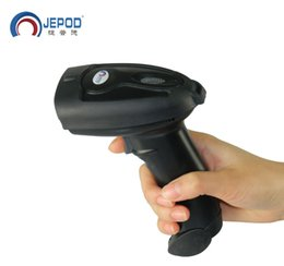 Wholesale Barcode Scanner For Android - JP-B2Y Wireless Bluetooth Barcode Scanner Free Shipping! Bluetooth USB Laser Bar Code reader support for IOS Android Windows