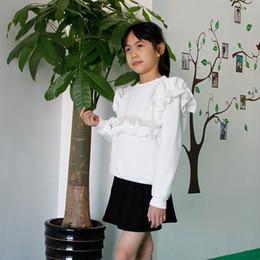 Wholesale Korean Spring Tunics - Sweatshirts Spring Girl Thick Sweater Children Fashion Keep Warm Korean Casual Bottoming Shirt Tunic Long Sleeve