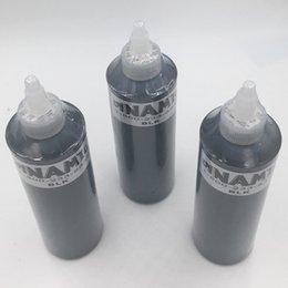 Canada Livraison gratuite Dynamique Professionnel Permanent Tatouage Maquillage Encre 250 ML 12 oz 330 g Noir Couleur Tattoo Pigment kit pour la peinture du corps cheap g ink Offre