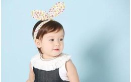 Wholesale Led Pictures Wholesale - Selling baby fruit design with rabbit ears take the lead Cotton first take pictures hair accessories