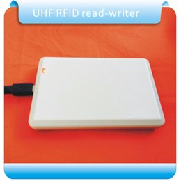 Wholesale Card Reader Access Control System - Wholesale- Free shipping 902-928M usb reader writer UHF rfid writer for access control system with sample card test
