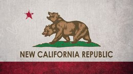 Wholesale Old Republic - New California Republic Antique do the old flag National Flag 3ft x 5ft Polyester Banner Flying 150* 90cm Custom flag