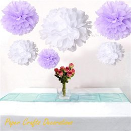 Wholesale Giant Flower Decoration - Wholesale-34 Colors 20inch (50cm) Giant Tissue Paper Pom Poms Flowers Balls Hanging Wedding Baby Shower Birthday Party Decorations
