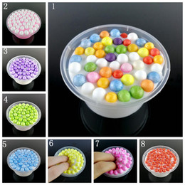 Wholesale Kids Play Boy - 8 colors Slime Mud Fluffy Floam Slime Stress Relief Scented Kids Toys Floam Slime Hand Putty Play Good Christmas Gift for Kids YYA555