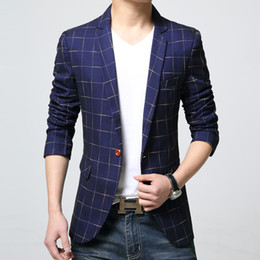 Wholesale Slim Suit Small - Wholesale- Spring new Korean Slim influx of male adolescent boys small suit men suit jacket thin sectiondo503