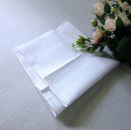 Wholesale Handkerchief Towel - Wholesale white handkerchief, pure white handkerchief, pure color small square, cotton sweat towel, plain handkerchief,free shipping