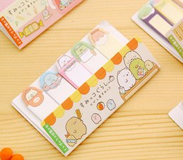 Wholesale Envelope Memo Pads - Cute Mini Animal Romantic Memo Pad Sticky Kawaii Paper Sticker Post It Note for Kids Gifts Korean Stationery Free shipping