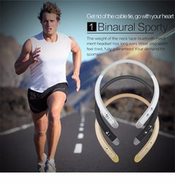Wholesale Wireless Headsets Price - New Bluetooth Headset for iPhone Samsung Wireless Mobile Earphone Bluetooth Headphones wholesale price from factory