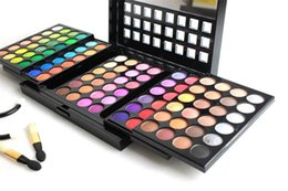 Wholesale Eye Shadow Palette 96 - Eyes Eye Shadow POPFEEL Professional Eye shadow Palette 96 Brand Shimmer 3 Layer Design Makeup Urban eyeshadow Make up Palettes Eyeshadows
