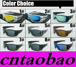 Wholesale Bats Women - Discount Price MOQ=20pcs HOT Sunglasses Men's Bat Rectangular Sunglasses wolf New Fashion Sunglasses Time Limited for men Sports Fashion