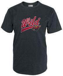 Chinese Newest 2017 Men T-Shirt Fashion NHL Minnesota Wild Mens National  Hockey League Short 25d333c6e