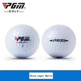 Wholesale Golf Ball Specials - Wholesale- PGM New Golf Distance Balls Training Practice 42MM 0.5GHigh-Grade Two three Layer Ball Special Double Layer Ball Long Wholesale