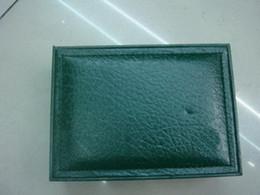 Canada CHINE nouvelle marque en gros meilleure vente mens montre de mode boîte verte boîtes hommes boîte et papier de montre pour la carte de livret de chêne royal en anglais supplier english china wholesale Offre